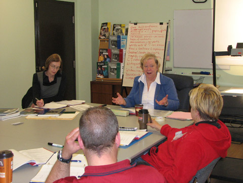 tutor training workshop small